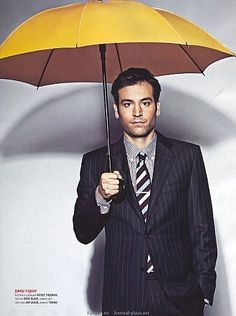 The yellow umbrella! -- Check out the Yellow Umbrella Photo Project - HIMYM -- https://www.facebook.com/WheresMosby  How I Met Your Mother