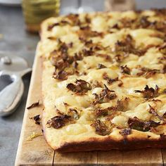 This savory Potato-Leek Focaccia Recipe is must try at home recipe!