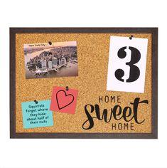 #corkboard #bulletinboard #messageboard #pinboard #memoboard #noticeboard #visionboard Memo Boards, Cork Boards, Sweet Home, Bulletin Board, Squirrel, Frame, Home Decor, Postcards, Picture Frame