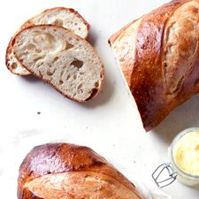 This is my favorite bread to bake--Extra-Tangy Sourdough Bread: King Arthur Flour