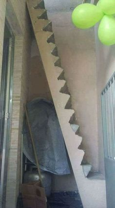 Top Funny pictures in civil engineering. Selection of top funny pictures in civil engineering domain. Construction Fails, Active Design, Stair Climbing, Design Fails, Take The Stairs, Staircase Design, Stair Design, Civil Engineering, Engineering Memes