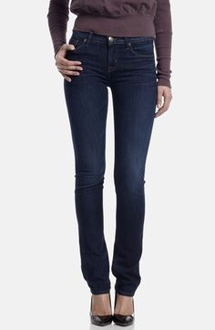 Hudson Jeans Mid Rise Straight Leg Jeans (Unplugged) available at #Nordstrom