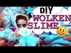 DIY WOLKENSLIME SELBER MACHEN / FLUFFY SLIME / OHNE EPS PERLEN! - YouTube Diy Videos, Slime, Youtube, Clear Glue, Clouds, Projects, Lima, Youtubers, Youtube Movies