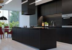Résultats de recherche d'images pour « total black cucina »