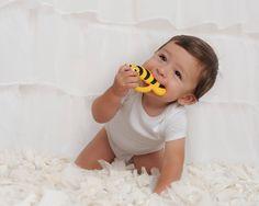 Silli Chews Baby Teethers - Silli Bugs - Buzz