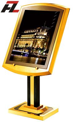 Hotel Lobby Sign Stands -Display Stands