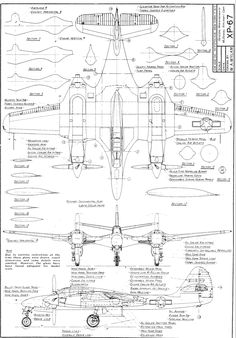 93 best aircraft orthographic projections images aircraft Air Plane Parts amateur drawing of the xp 67 blended wing body cutaway aviation aircraft