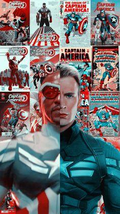 Marvel Comics Superheroes, Marvel Art, Marvel Characters, Captain America Aesthetic, Captain America Comic, Avengers Fan Art, Marvel Avengers, Marvel Background, Marvel Photo