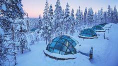 Ocho alucinantes hoteles entre el hielo y las auroras boreales