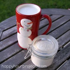 White Hot Cocoa mix - hmmmm maybe... if I can find white chocolate pudding mix???