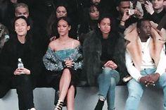 Kanye Adidas Front Row