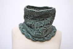 Ravelry: Biomechanic pattern by John Brinegar. For purchase pattern, created in two pieces and joined by hand.