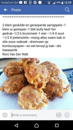 Braai Recipes, Beef Recipes, Appetizer Recipes, Fun Baking Recipes, Cooking Recipes, 4 Ingredient Recipes, South African Recipes, Lunchbox Ideas, Savory Snacks