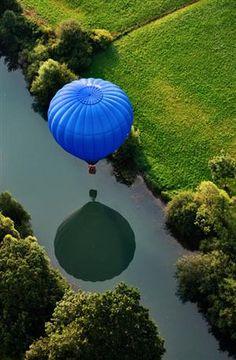 I'd love to take a hot air balloon ride
