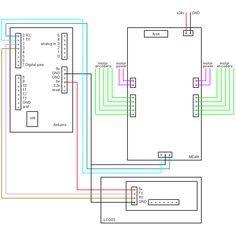 e bike controller wiring diagram likewise 7 pin round trailer plug arduino examples