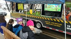 Game truck perfect for video game party!