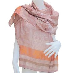 519a971a115592 HelloBangkok BIG ELEPHANT BIG POWER REALY NICE  amp  LOVELY Scarf Shawl  Pashmina Wrap Throw -