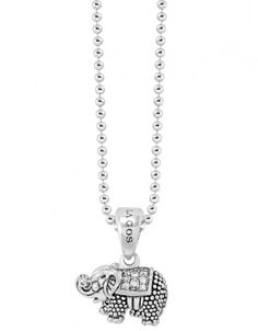 LAGOS Jewelry | Rare Wonders | Diamond ELEPHANT PENDANT NECKLACE