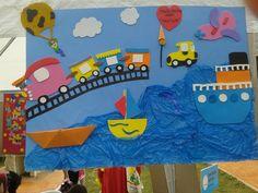transportation craft idea_800x600   Crafts and Worksheets for Preschool,Toddler and Kindergarten