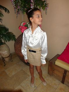 Elegant skirt and blouse that can be worn for any occassion!