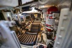 M1A2 Abrams driver's compartment