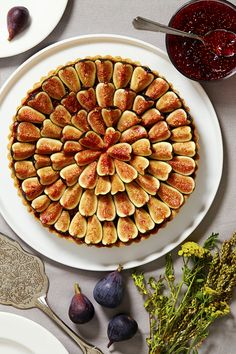 The photogenic tart will make you look like a pastry chef, though it's no more difficult than baking a pie. A sweet tart crust is layered with almond cream, fig jam (homemade is nice, but store-bought works well, too) and fresh figs. (Photo: Jessica Emily Marx for The New York Times)