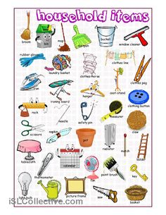 Household Items Picture Dictionary- We offer free classes on the Eastern Shore of MD to help you earn your GED - H. Diploma or Learn English (ESL) . For GED classes contact Danielle Thomas dthomas@ For ESL classes contact Karen Luceti - 4 English Tips, English Fun, English Study, English Class, English Words, English Lessons, English Grammar, Learn English, English Language Learning