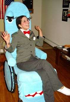20 creative costume ideas for people in wheelchairs Visit your local Goodwill for all your Halloween shopping: www.goodwillvalleys.com/shop