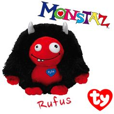 Rufus the Monstaz Beanie from Ty!