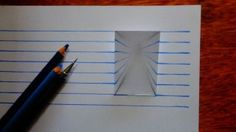 These 3D drawings will make you think they're flying off the page