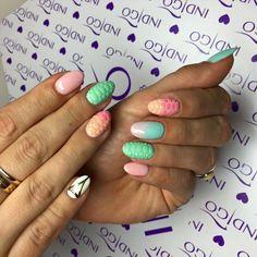 Pastelowe paznokcie od Ani Leśniewskiej Indigo Educator Ostrołęka :) #pastel #nails #ombre #happy #wow