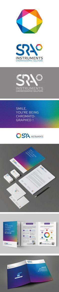 SRA Instrument - Brand Identity