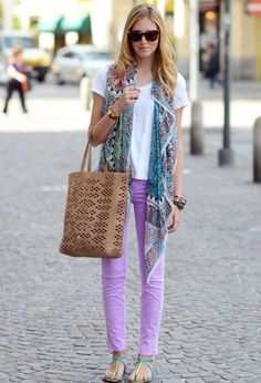 J Brand  Jeans love this look,  where can I get lilac jeans??