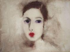 "Saatchi Online Artist corinna wagner; Painting, ""she"" #art"