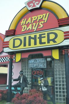 Happy Days Diner in Pigeon Forge, TN. Hmm, may have to stop by while I'm there.