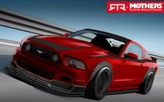 2013 Ford Mustang GT RTR Mothers SEMA concept #ford #mustang