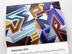 MWM Graphics (Matt W. Moore)   2015 Wall Calendar   September