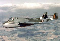De Havilland DH-100 Vampire Fighter/Bomber - British , Post-WWII