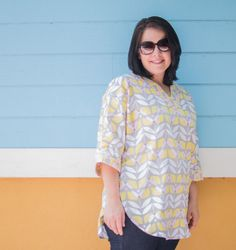 Show Off Saturday Linky Party and my Tea Blossom Tunic — SewCanShe | Free Daily Sewing Tutorials