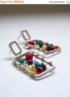 Hey, I found this really awesome Etsy listing at https://www.etsy.com/listing/73169194/on-sale-xl-abacus-earrings-sterling
