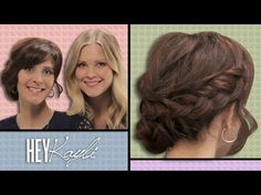We can't tell you how many gorgeous messy braid buns we've seen on the red carpet. Ready for your own? Kayli shows us how to do it on a friend. Skip to 1.05 if you're just in it for the braid.