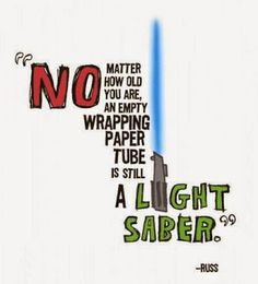 Lightsabers for the win! #starwars