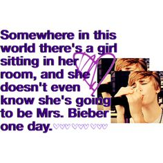 My one and only dream to be this lucky. I would give anything. One Less Lonely Girl. :) ♥
