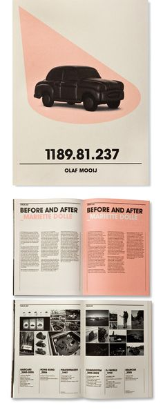 Really nice monograph of artist Olaf Mooji by studio beige. I can't name a thing that I don't like about it.