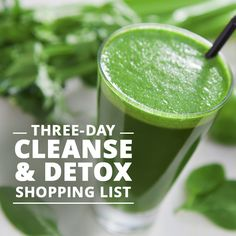 Three day cleanse & detox, designed to kick-start your healthy eating plan and cleanse your system.