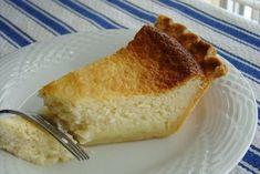 I heart Buttermilk Pie Gourmet Desserts, Just Desserts, Dessert Recipes, Chicken And Mushroom Pie, Buttermilk Pie, Fish Pie, Easy Cooking, Let Them Eat Cake, Food Dishes