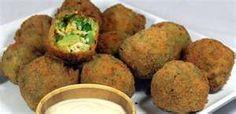 Bennigan's Broccoli Bites copycat recipe with honey mustard dipping sauce