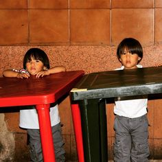A table for two. In #Venezuela