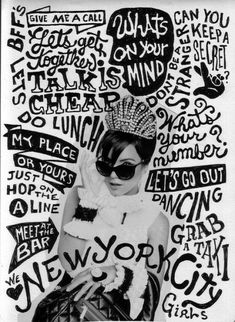 all drawn type poster - Google Search                                                                                                                                                                                 More