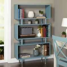 Shop for Simple Living Margo Mid-Century 3-Shelf Bookshelf. Ships To Canada at Overstock.ca - Your Online Furniture Outlet Store!  - 17721937